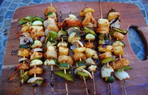 Soyaki Shrimp Skewers