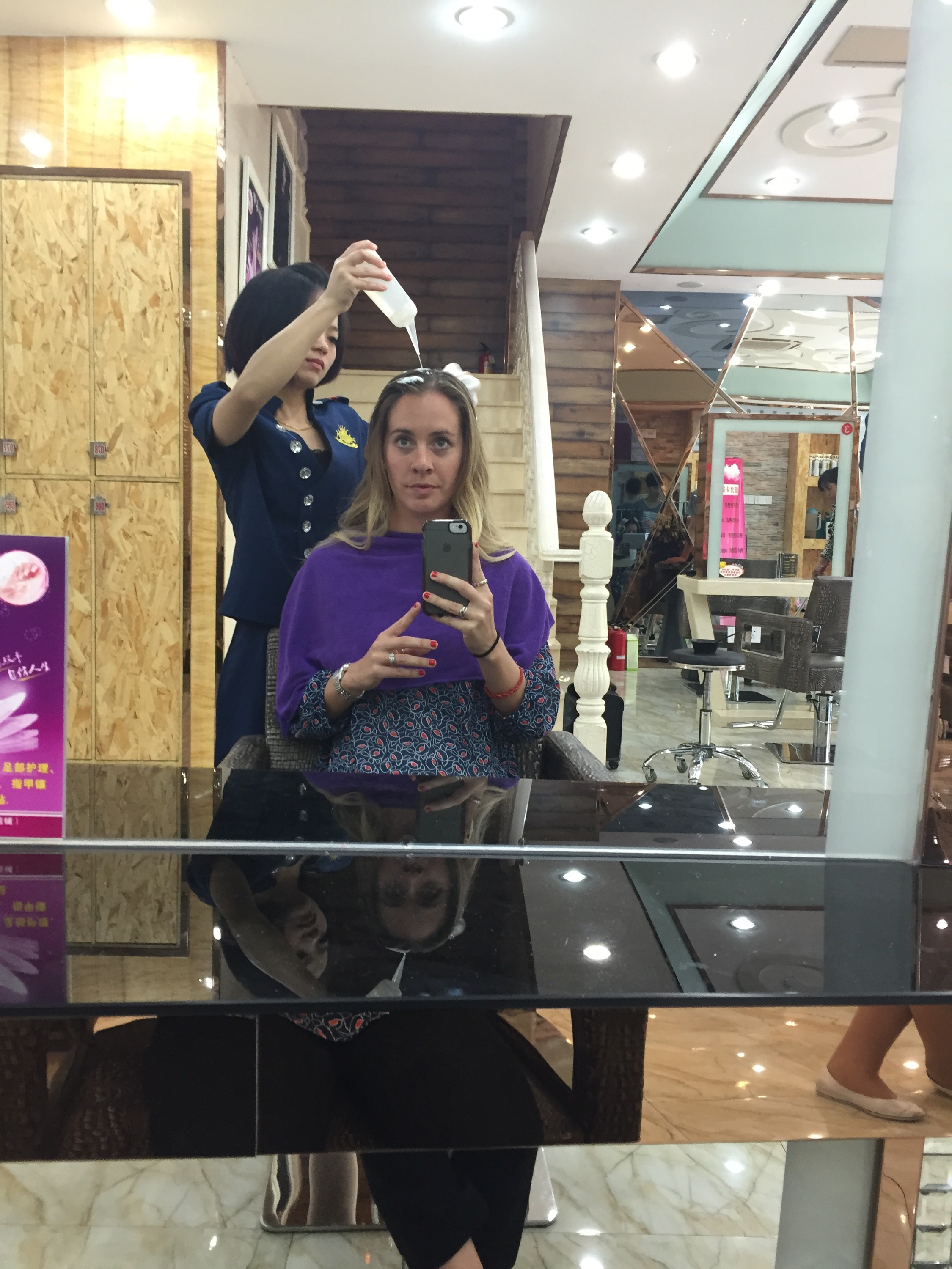 My First Haircut In China Wanderlust Wednesdays